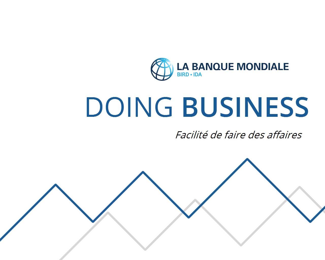 Le classement de Madagascar dans le Doing Business