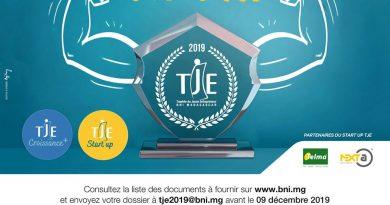 Trophée du Jeune Entrepreneur  2019